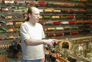 me and some of my trains